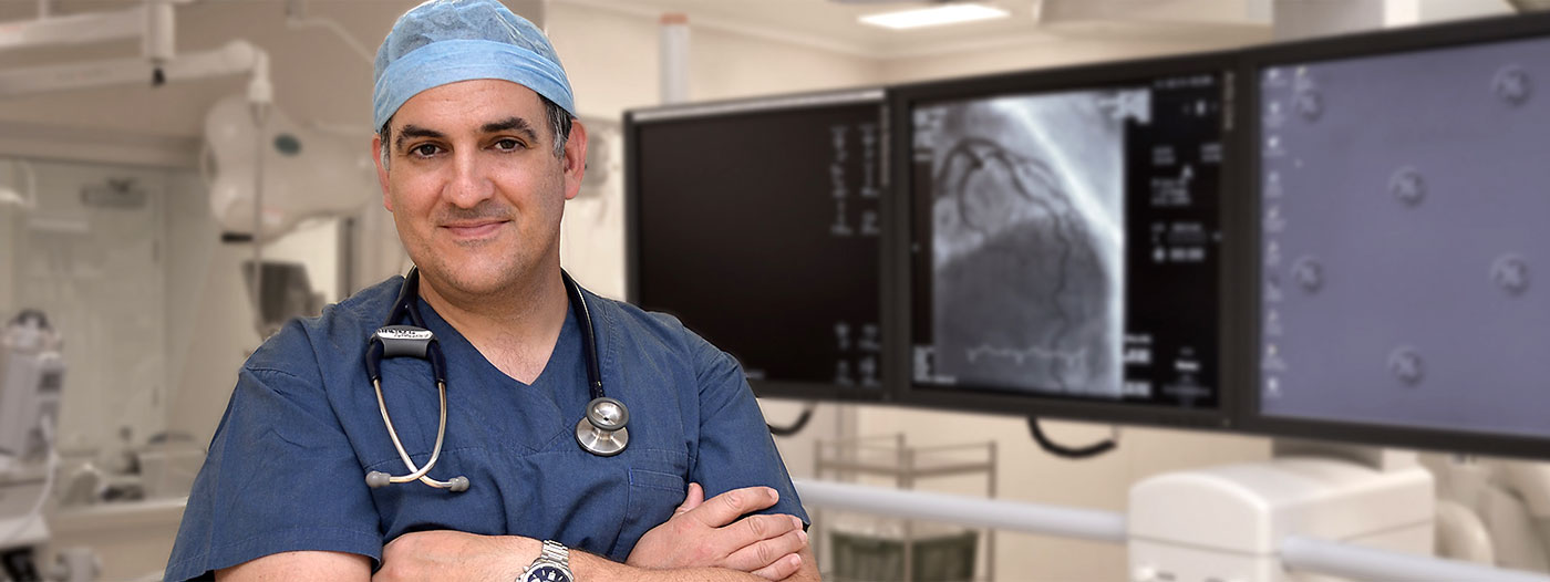 Dr Steven Kypraios at Sunshine Coast Cardiology
